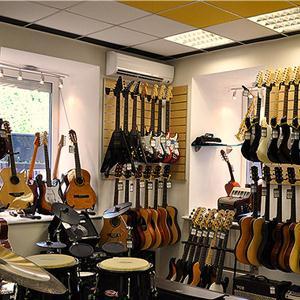 Музыкальные магазины Фосфоритного
